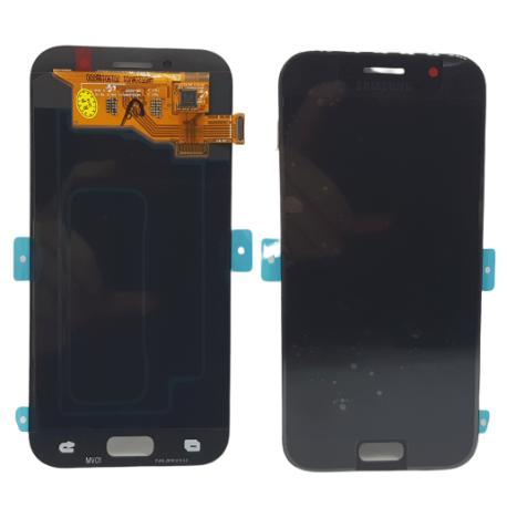 PANTALLA LCD DISPLAY + TACTIL ORIGINAL PARA SAMSUNG GALAXY A5 2017 A520F - NEGRO