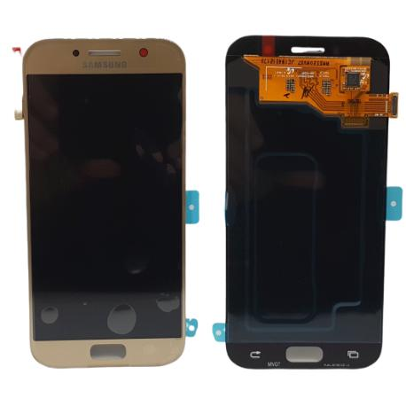 PANTALLA LCD DISPLAY + TACTIL ORIGINAL PARA SAMSUNG GALAXY A5 2017 A520F - ORO