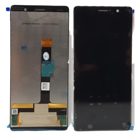 PANTALLA LCD Y TACTIL PARA NOKIA 7 PLUS - NEGRA