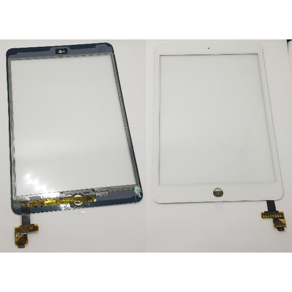PANTALLA TACTIL PARA TABLET IPAD MINI Y IPAD MINI 2 CON CONECTOR IC - BLANCO