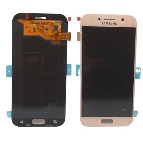 PANTALLA LCD DISPLAY + TACTIL ORIGINAL PARA SAMSUNG GALAXY A5 2017 A520F - ROSA