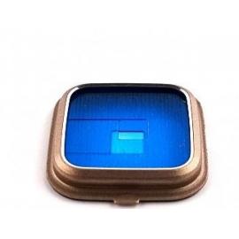 Embellecedor Oro Original para Camara Samsung Galaxy Note 4 N910F