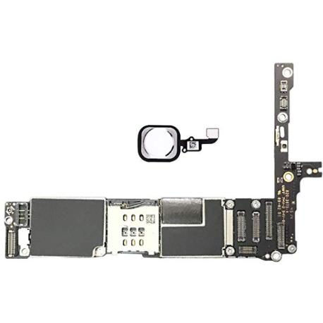 PLACA BASE LOGIC BOARD MOTHERBOARD IPHONE 6 PLUS LIBRE 16GB ( CON BOTON HOME BLANCO ) - RECUPERADA
