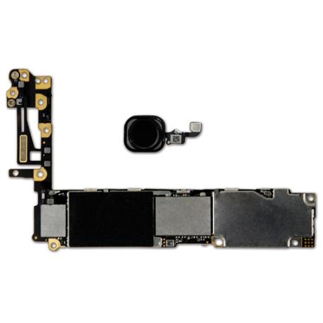 PLACA BASE LOGIC BOARD MOTHERBOARD IPHONE 6 LIBRE 16GB (CON BOTON HOME NEGRO ) - RECUPERADA