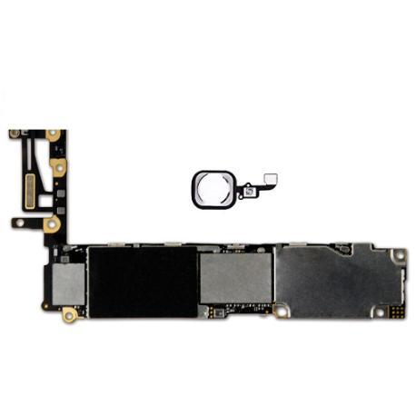 PLACA BASE LOGIC BOARD MOTHERBOARD IPHONE 6 LIBRE 64GB (CON BOTON HOME BLANCO ) - RECUPERADA