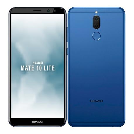 * TELEFONO MOVIL REACONDICIONADO HUAWEI MATE 10 LITE 64GB 4GB AZUL - GRADO A
