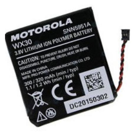 BATERIA WX30 PARA RELOJ MOTOROLA MOTO 360 (1ST GEN)