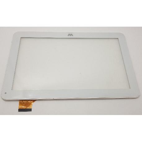 PANTALLA LCD + TACTIL CON MARCO ORIGINAL PARA TABLET WOXTER I-101 I101 BLANCA - RECUPERADA