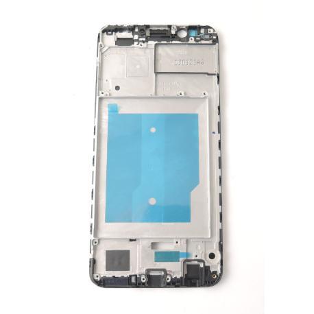 CARCASA FRONTAL DE LCD PARA HONOR 7C - NEGRA