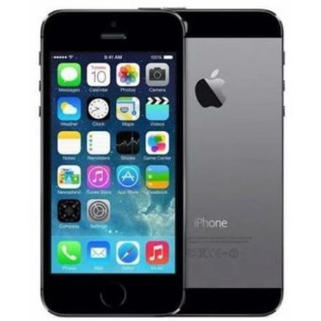 * TELEFONO MOVIL REACONDICIONADO IPHONE 5S 16GB NEGRO - GRADO B