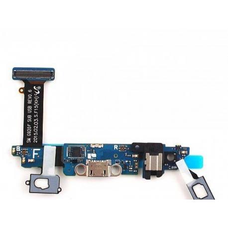 Flex Conector de Carga Micro USB, Microfono y Jack de Audio para Samsung Galaxy S6 SM-G920F
