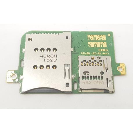 MODULO LECTOR SD + SIM TABLET LENOVO A7600 A7600-H
