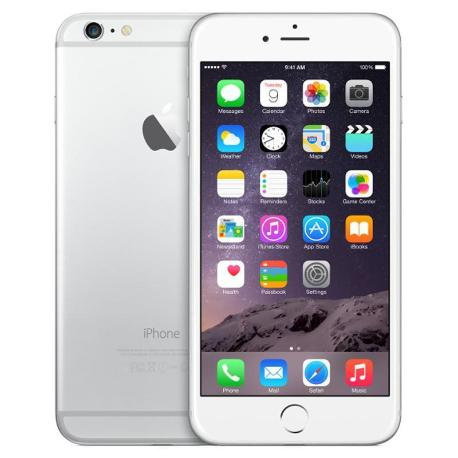 * TELEFONO MOVIL REACONDICIONADO IPHONE 6 PLUS 16GB  BLANCO PLATA - GRADO A
