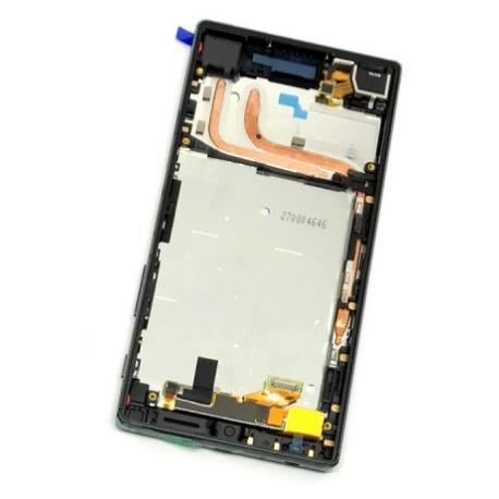 PANTALLA LCD DISPLAY + TACTIL CON MARCO PARA SONY XPERIA Z5 E6603, E6653 - NEGRO