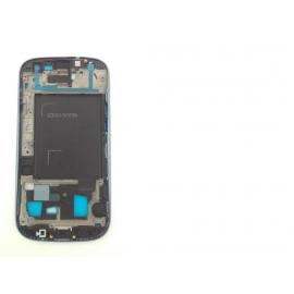 Carcasa Marco Frontal Samsung Galaxy S3 Neo i9300i i9301 Azul Recuperada