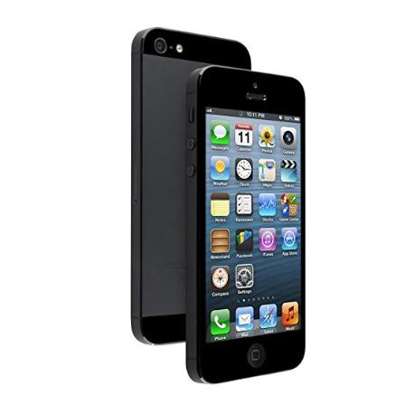 TELEFONO MOVIL REACONDICIONADO IPHONE 5 16GB NEGRO - GRADO C