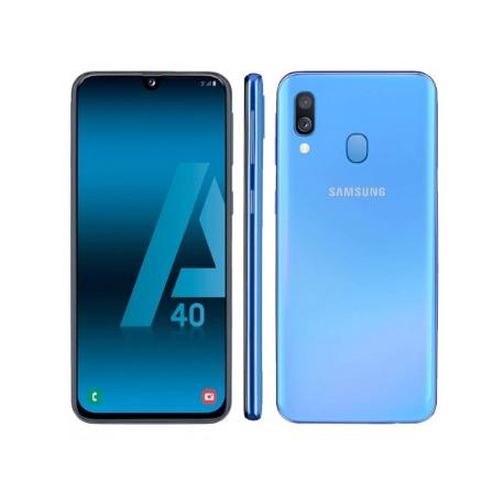 * TELEFONO MOVIL REACONDICIONADO SAMSUNG GALAXY A40 64GB AZUL - GRADO A