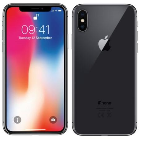 * TELEFONO MOVIL REACONDICIONADO IPHONE X 64GB NEGRO - GRADO A