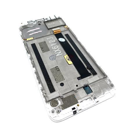 PANTALLA IPS LCD CON MARCO PARA ZTE NUBIA V18 - BLANCO