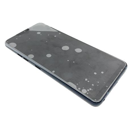 PANTALLA IPS LCD CON MARCO AZUL PARA LG Q9 - NEGRA
