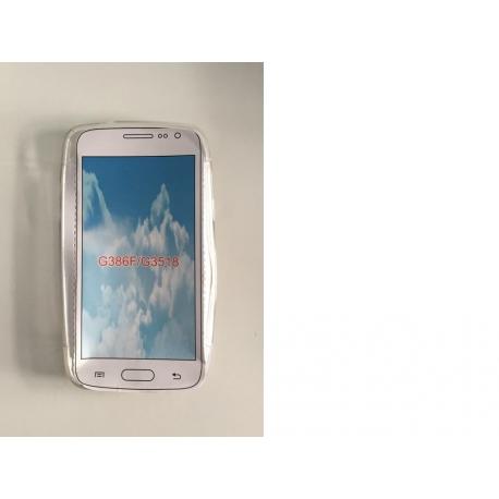Funda de silicona para el Samsung Galaxy Core 4G, G386F/G3518 - Transparente