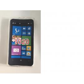 Funda de silicona para el NOKIA Lumia 1020 - Transparente