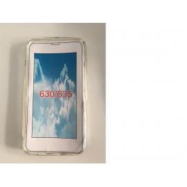 Funda de silicona para el NOKIA Lumia 630/635  - Transparente