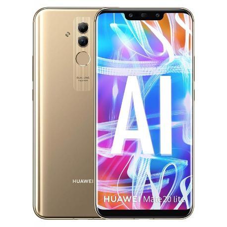 * TELEFONO MOVIL REACONDICIONADO HUAWEI MATE 20 LITE 64GB 4GB DORADO - USADO