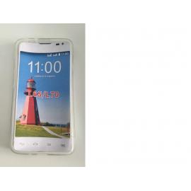Funda de silicona para el LG OPTIMUS L70 / L65 - Transparente