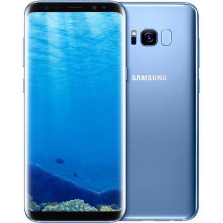 * TELEFONO MOVIL REACONDICIONADO SAMSUNG GALAXY S8 64GB AZUL - BUEN ESTADO