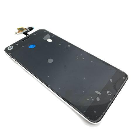 PANTALLA LCD CON MARCO BLANCO PARA ZTE BLADE A610 PLUS - NEGRA