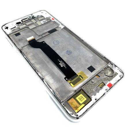 PANTALLA LCD CON MARCO PARA ASUS ZENFONE 5 LITE ZC600KL - BLANCA