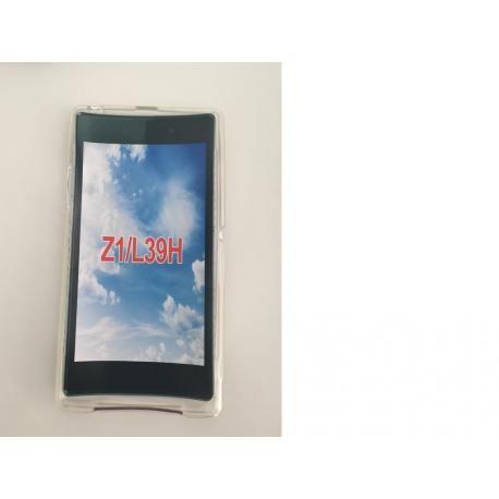 Funda de silicona para el SONY XPERIA Z1 L39H C6903 - Transparente