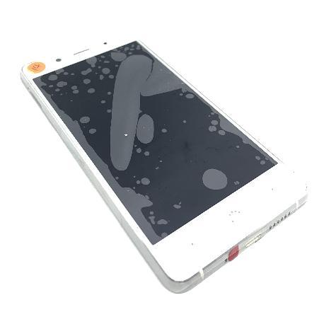 PANTALLA LCD DISPLAY + TACTIL CON MARCO PARA BQ AQUARIS X5 PLUS - BLANCA