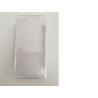 Funda de silicona para el SONY XPERIA J ST26i - Transparente