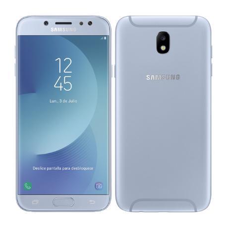 TELEFONO MOVIL REACONDICIONADO SAMSUNG GALAXY J7 2017 16GB PLATA - BUEN ESTADO