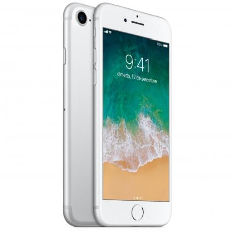 TELEFONO MOVIL REACONDICIONADO IPHONE 7 128GB PLATA - BUEN ESTADO