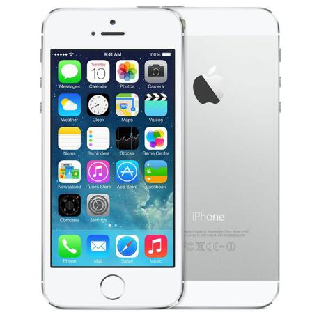 TELEFONO MOVIL REACONDICIONADO IPHONE 5S 16GB PLATA - BUEN ESTADO
