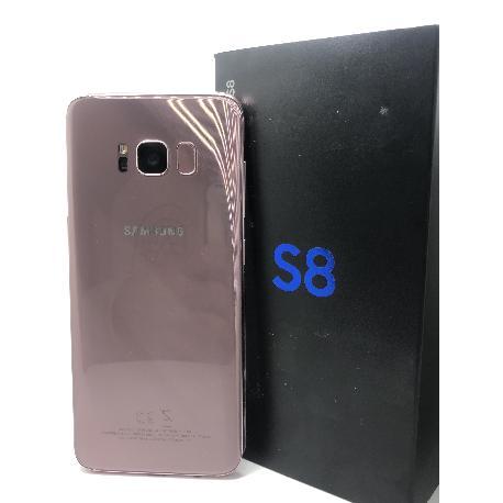 TELEFONO MOVIL REACONDICIONADO SAMSUNG GALAXY S8 ROSA - MUY BUEN ESTADO