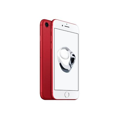 * TELEFONO MOVIL REACONDICIONADO IPHONE 7 128GB ROJO - BUEN ESTADO