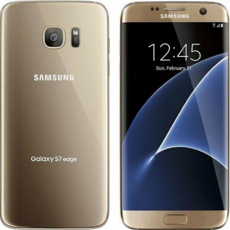 TELEFONO MOVIL REACONDICIONADO SAMSUNG GALAXY S7 EDGE 32GB DORADO - MUY BUEN ESTADO