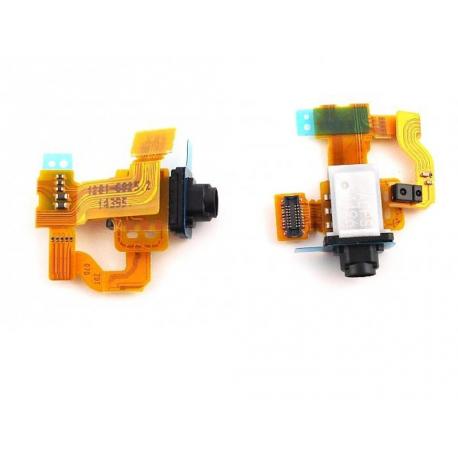 Repuesto Flex Jack de Audio + Sensor de Proximidad para Sony Xperia Z3 Compact D5803 D5833