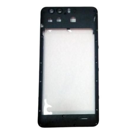 CARCASA INTERMEDIA PARA BLACKVIEW P6000 - NEGRA -