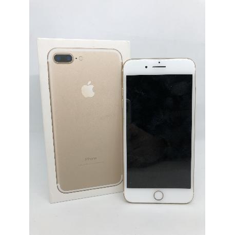 MOVIL IPHONE 7 PLUS 32GB DORADO - MUY BUEN ESTADO - CAJA