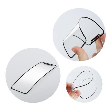 Protector Flexible Glass 5D Full Glue - iPhone 6, 6s, 7, 8 - Negro