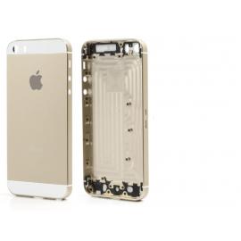 Carcasa Tapa Trasera iPhone 5S Dorada Oro
