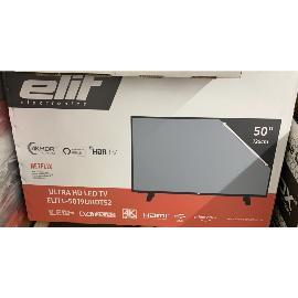 "TELEVISION SMART TV ELIT 50 PULGADAS 4K 50L-5019AST2 CON ANDROID - "" NUEVO CON CAJA """