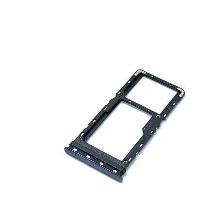 Bandeja SIM Y SD para Xiaomi Mi A3, Mi CC9e - Negro