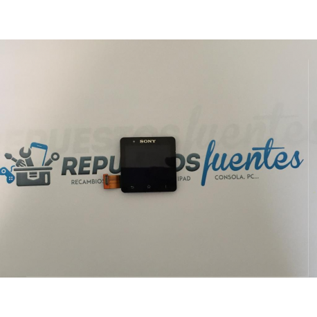 Repuesto Pantalla Tactil + LCD Sony Smart Watch 2 - De Desmontaje