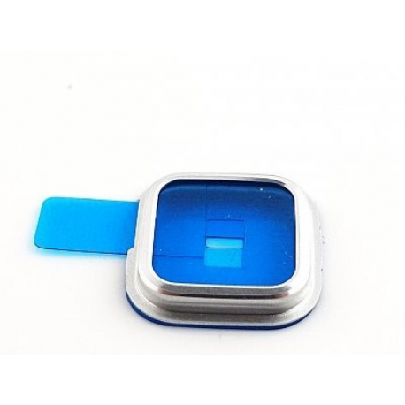 Embellecedor de Camara para Samsung Galaxy S5 i9600 SM-G900M - Plata